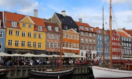Descending southwards through Denmark
