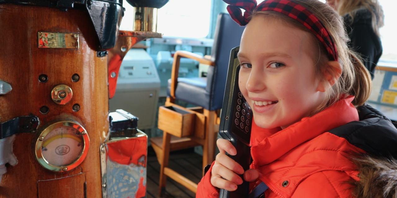 Edinburgh | Roadschooling on Royal Yacht Britannia