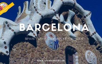 LifeinourVan City Reviews   Barcelona   Spain
