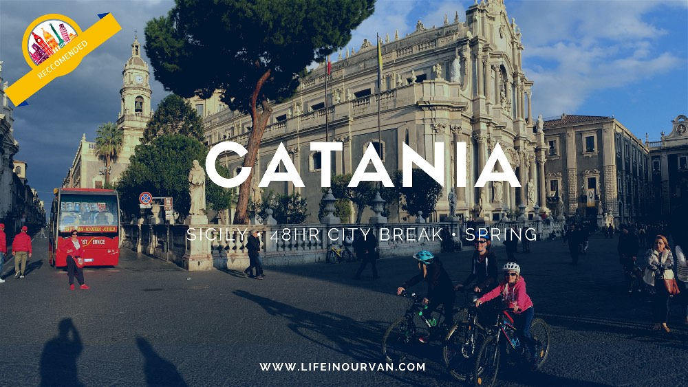 Sicily | Catania with Kids.... a family bike adventure!