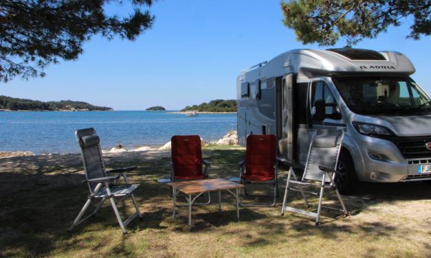 Motorhoming in Croatia   Exploring Istria from Camping Orsera