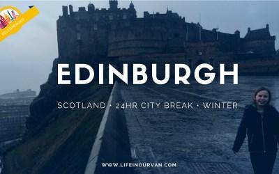 LifeinourVan City Reviews   Edinburgh   Scotland