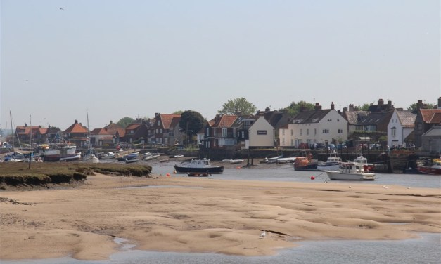 Motorhoming in Norfolk   Visiting Wells next to the Sea – worth every minute spent there!