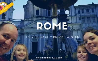 LifeinourVan City Reviews | Rome | Italy