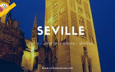 Perhaps not sunny Seville! But stunning as ever…