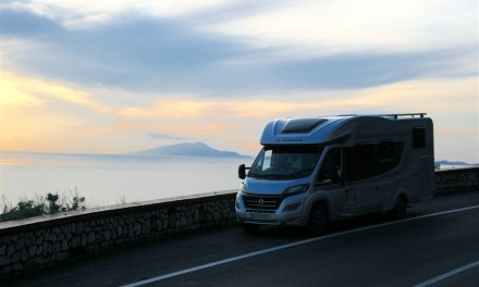 Visiting Sorrento & the Amalfi Coastline in a Motorhome