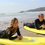 Surely you can't take your kids to Pembrokeshire without trying Surfing…??