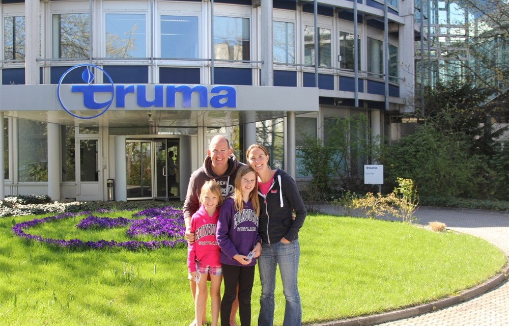 A special visit to Truma, Munich – from a humble language school into a multinational corporation