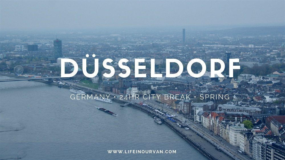 Motorhoming in Germany | Discovering Dusseldorf's many delights…