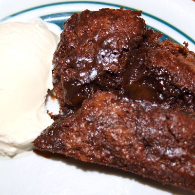 Hot Fudge Pudding