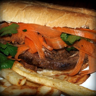 Vietnamese Steak Sandwiches
