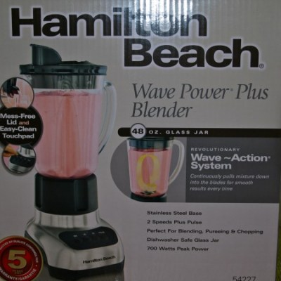 Hamilton Beach Blender Giveaway