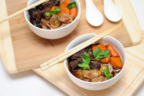 Vietnamese Beef Stew from FoodiePrints