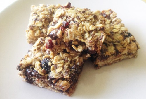 Healthy Granola Bars from Nayla Natural Care.