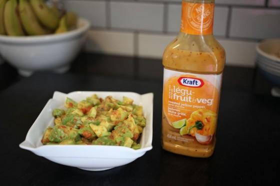 Kraft Fruit & Veg Dressing Guacamole 2