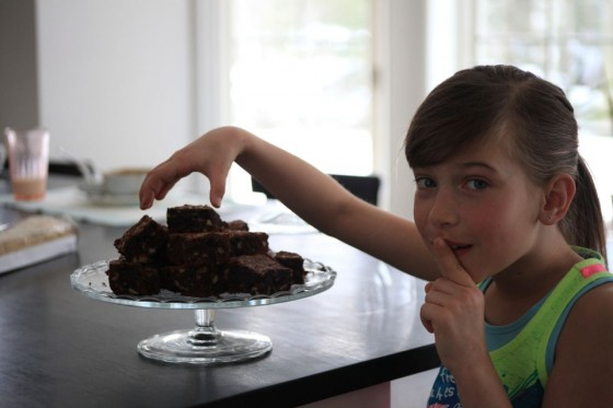 nutella brownies kids