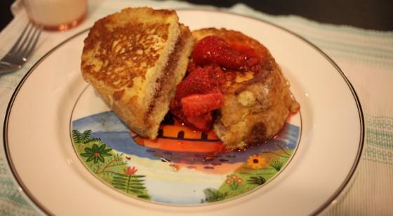 chocolate stuffed french toast 2