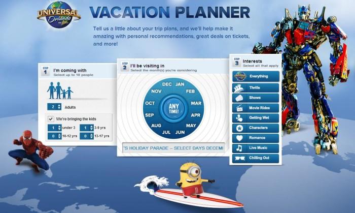 universal orlando vacation planning