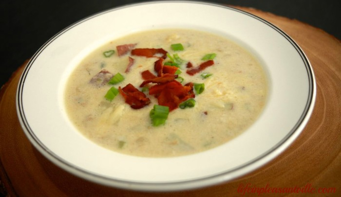 easy seafood chowder