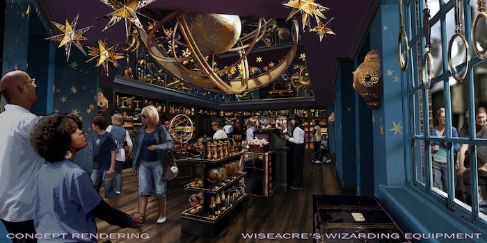 Wiseacre's Wizarding Equipment