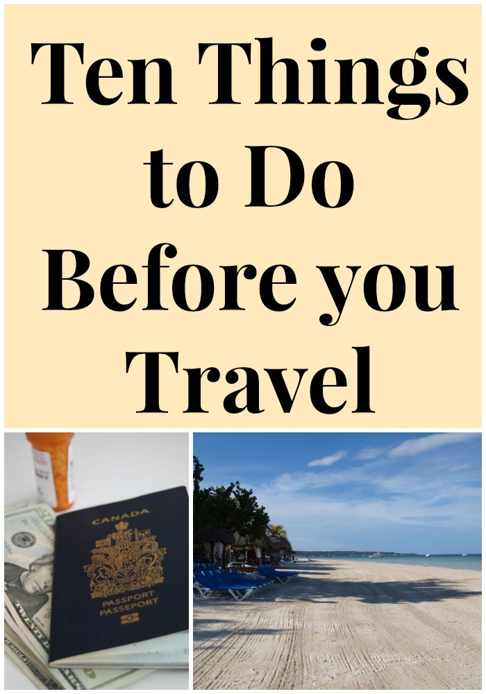ten things to do before you travel