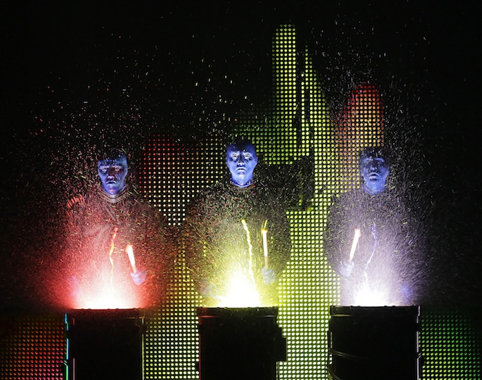 blue man group is family friendly