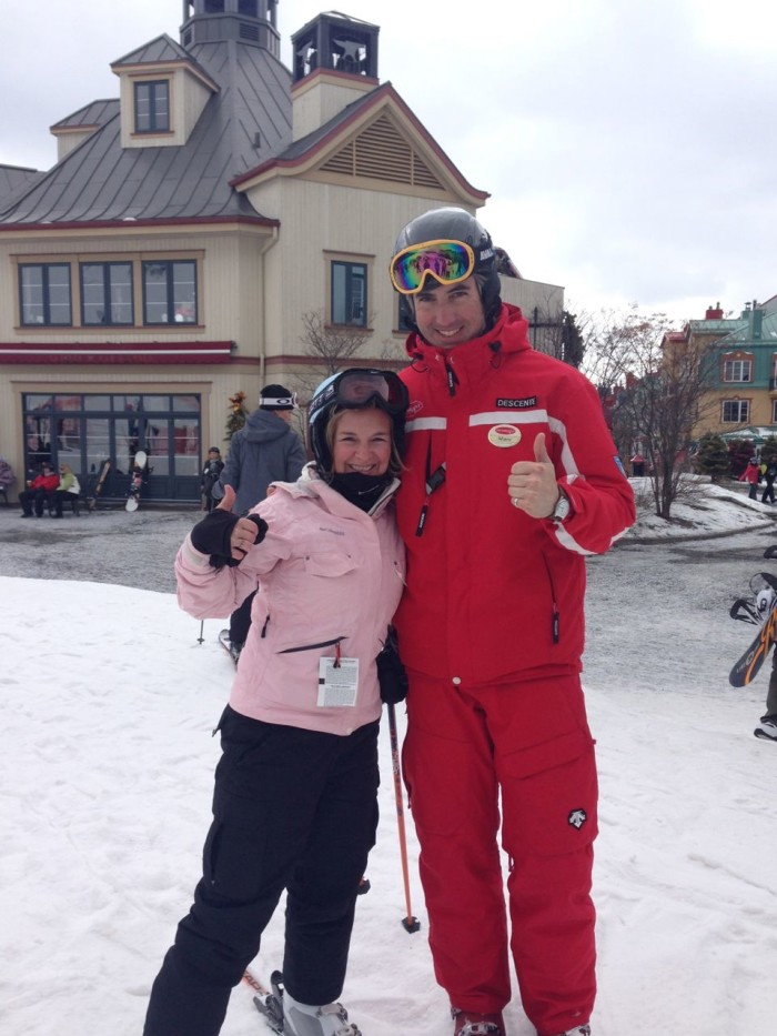 can adults learn to ski Mont Tremblant