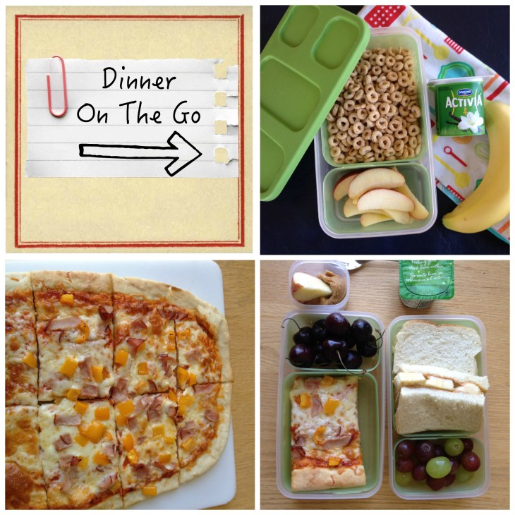 Dinner On The Go Collage