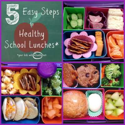Healthy School Lunches in 5 Easy Steps