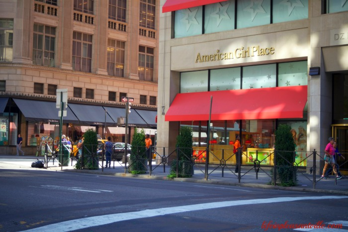 American Girl, New York City, store, shopping