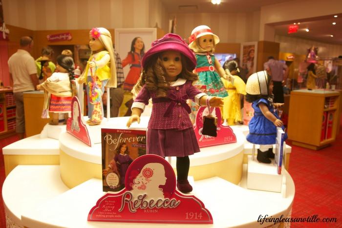 American Girl, BeForever, historical dolls