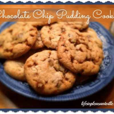 Chocolate Chip Pudding Cookies for National Cookie Day