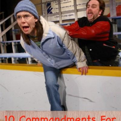 Ten Commandments For Hockey Parents