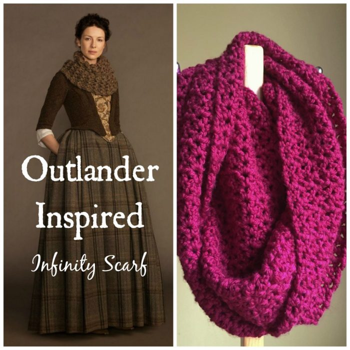 Outlander Inspired Infinity Scarf