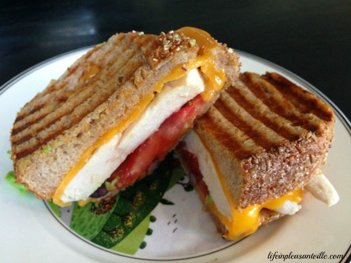 Grilled Tex Mex Sandwich