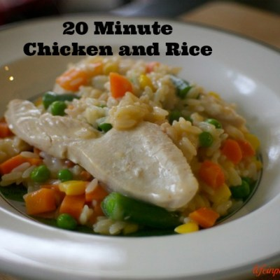 Campbell's 20 Minute Chicken And Rice Dinner