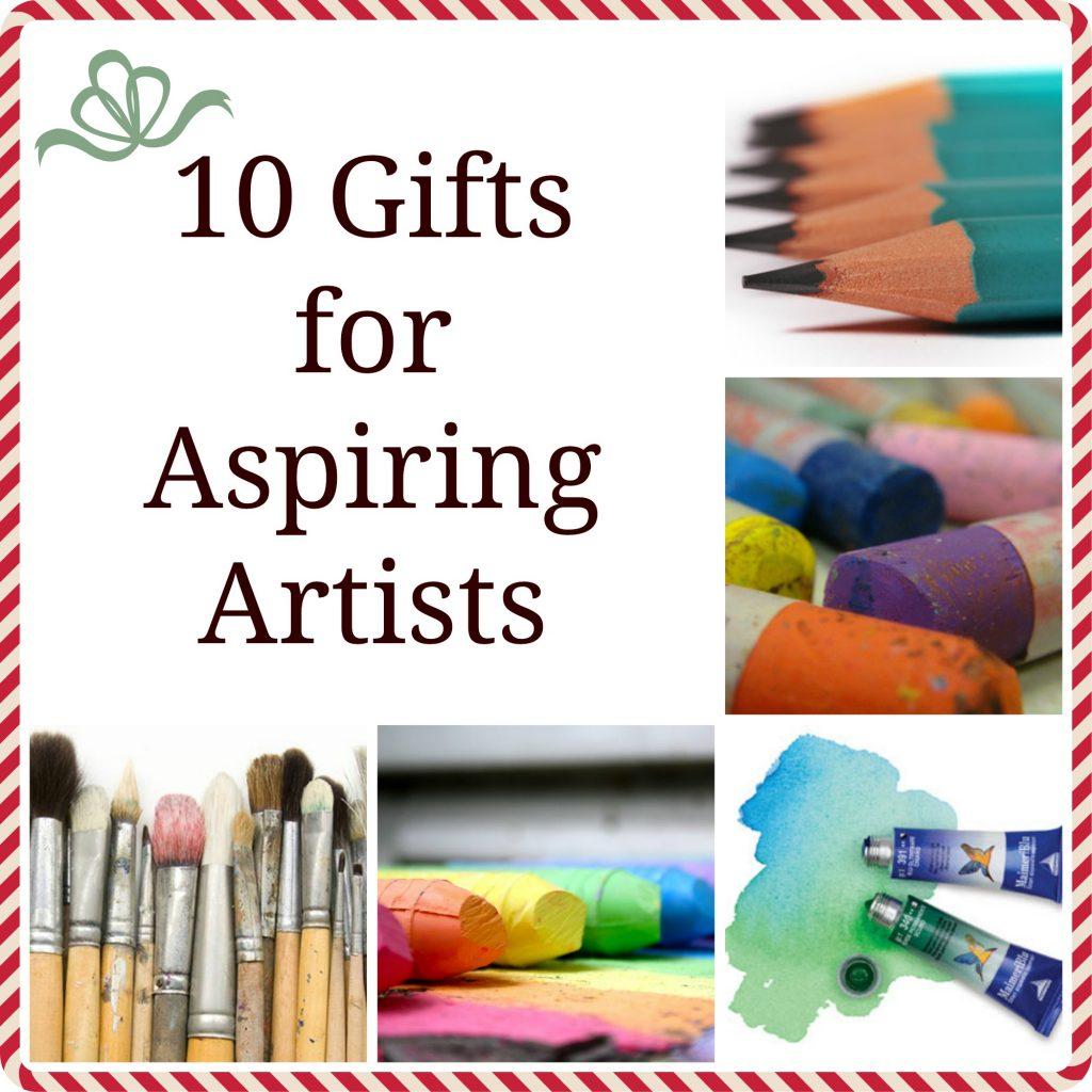 10 Gifts for aspiring artist