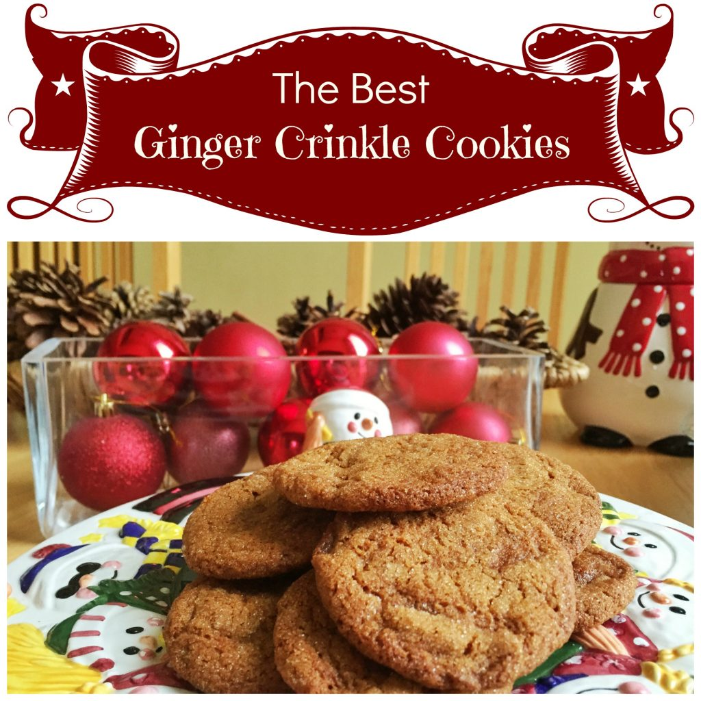best ginger crinkle cookies, The Best Ginger Crinkle Cookie