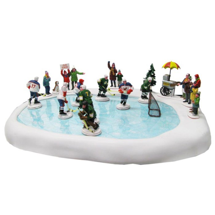 ten essentials to decorate for Christmas,Rona_hockey,Christmas villages