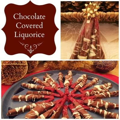 Chocolate Covered Liquorice