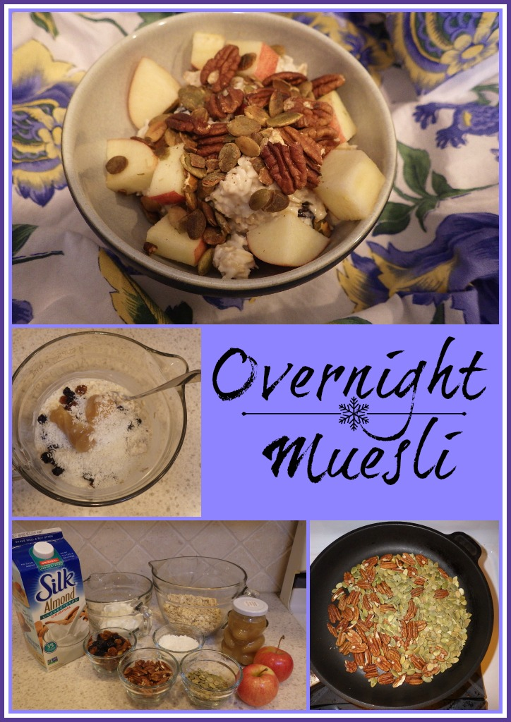 overnight muesli, healthy breakfasts