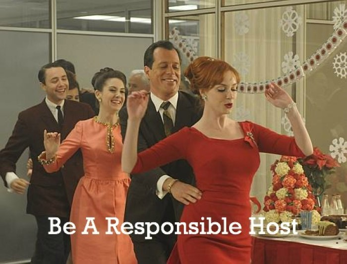 how to be a responsible party host