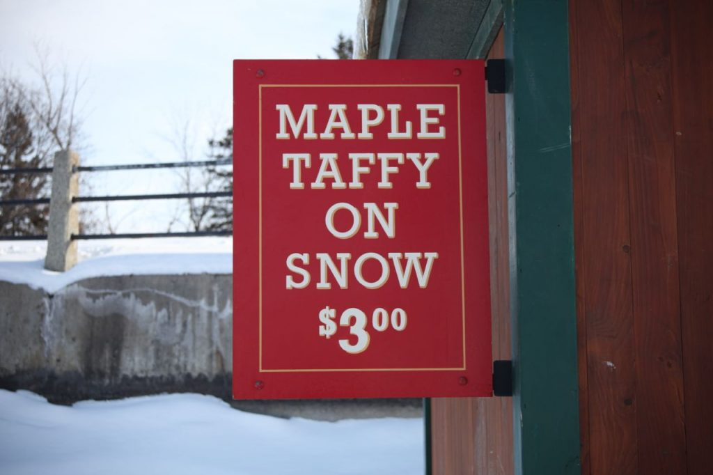 Winter Wonderland, Maple Taffy On Snow, Rideau Canal, Ottawa