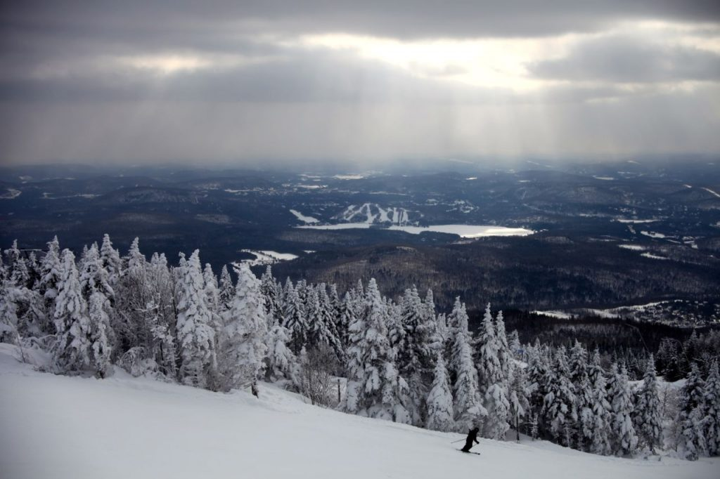 winter wonderland, Mont Tremblant