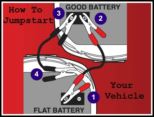 How to boost a car battery