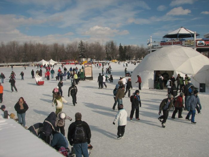 Dows_Lake_in_winter_by_Wilder, winter, winterlude, ottawa, canada, winter festivals, fun, family, skating