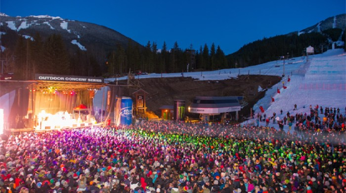 whistler, british columbia, canada, winter, winter festivals, ski, snow, ice, fun, party, food