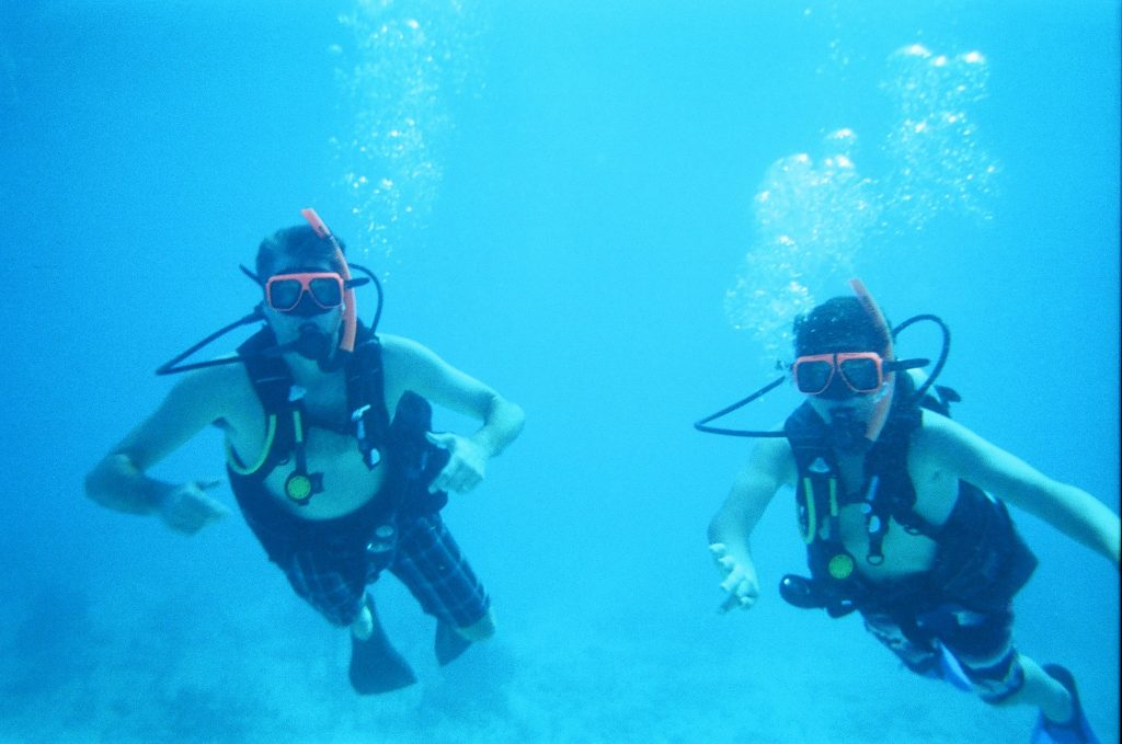 Scuba Diving Family Vacations, Turks and Caicos, Beaches, first timers, learn to dive