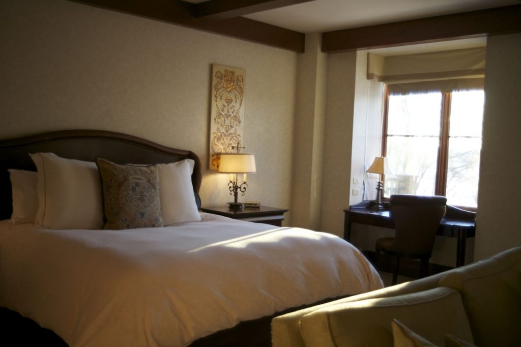 Time is a luxury, suite at Hotel Quintessence, Mont Tremblant