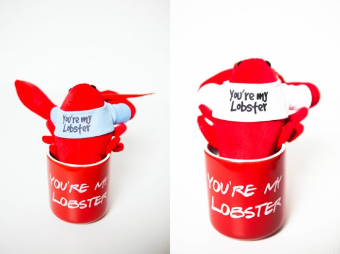 mug, lobster mug, Etsy shop, Friends, Phoebe, Rachel, Ross, what we love, What we're crushing on, must have
